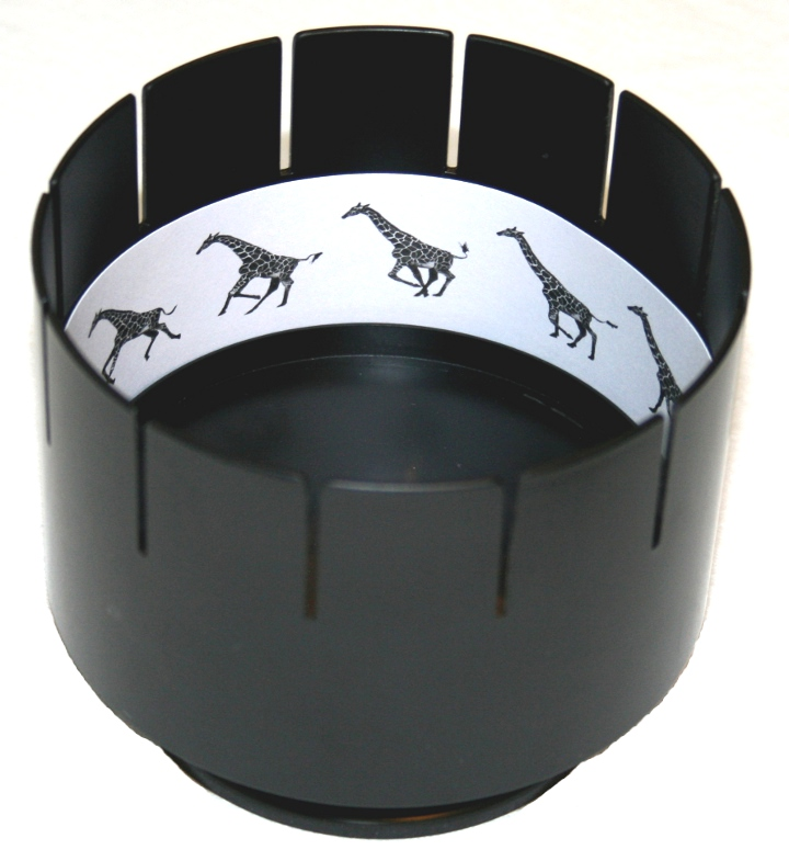 Make Your Own Zoetrope. - Animation in its simplest form.