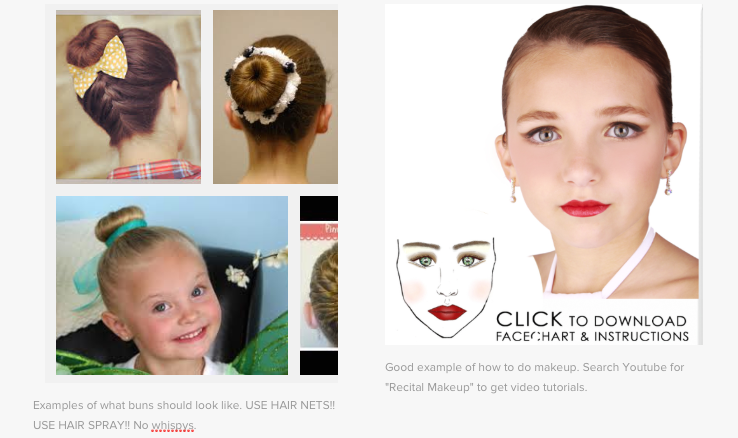 Click to enlarge. Good examples of hair and makeup.