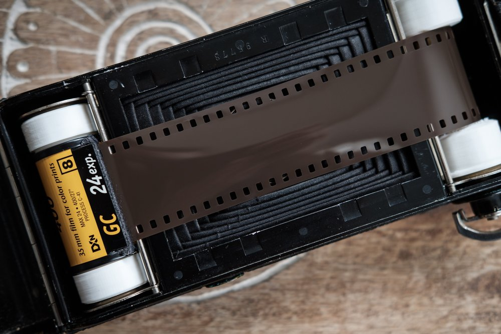 Loading 35mm with the 3D printed adapters