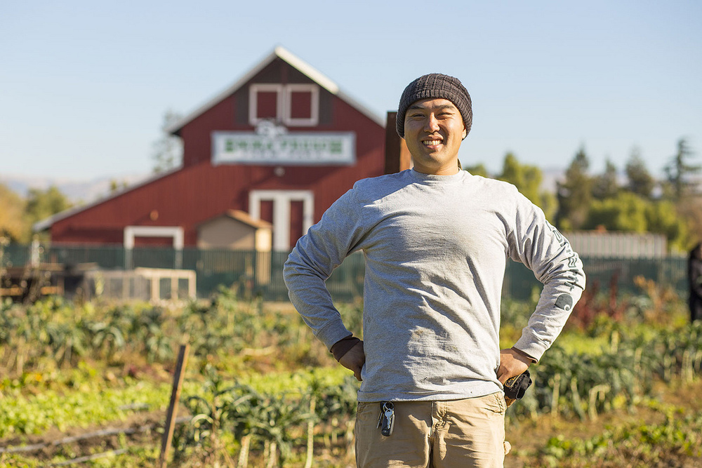 New Farm Manager William Chen