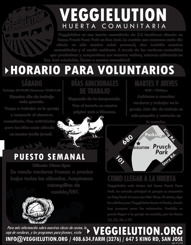 General Flyer (Spanish)