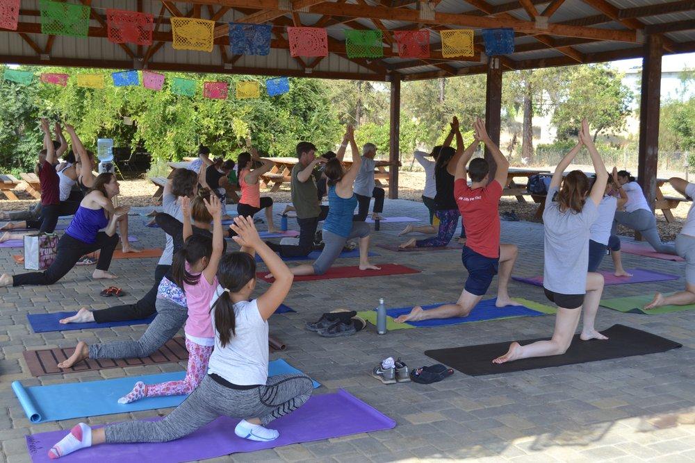 Yoga - 9 A.M - 10 A.M