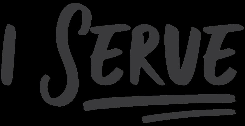 I Serve - Black.png