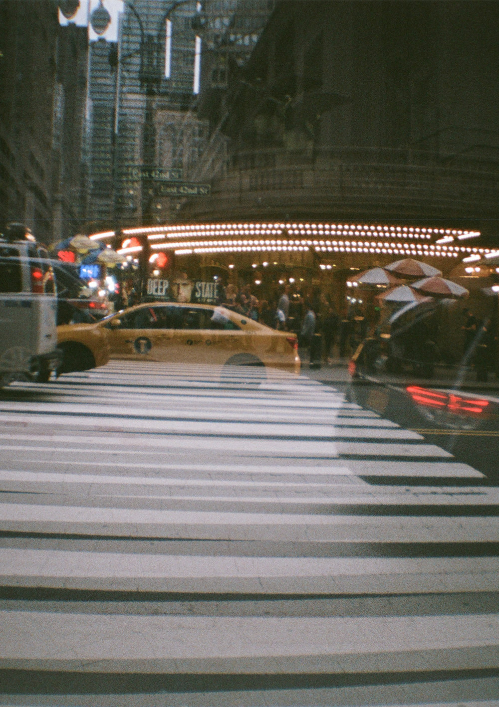 Grand Central - 35mm - Diana Mini - Fujifilm Superia 400 - double exposure