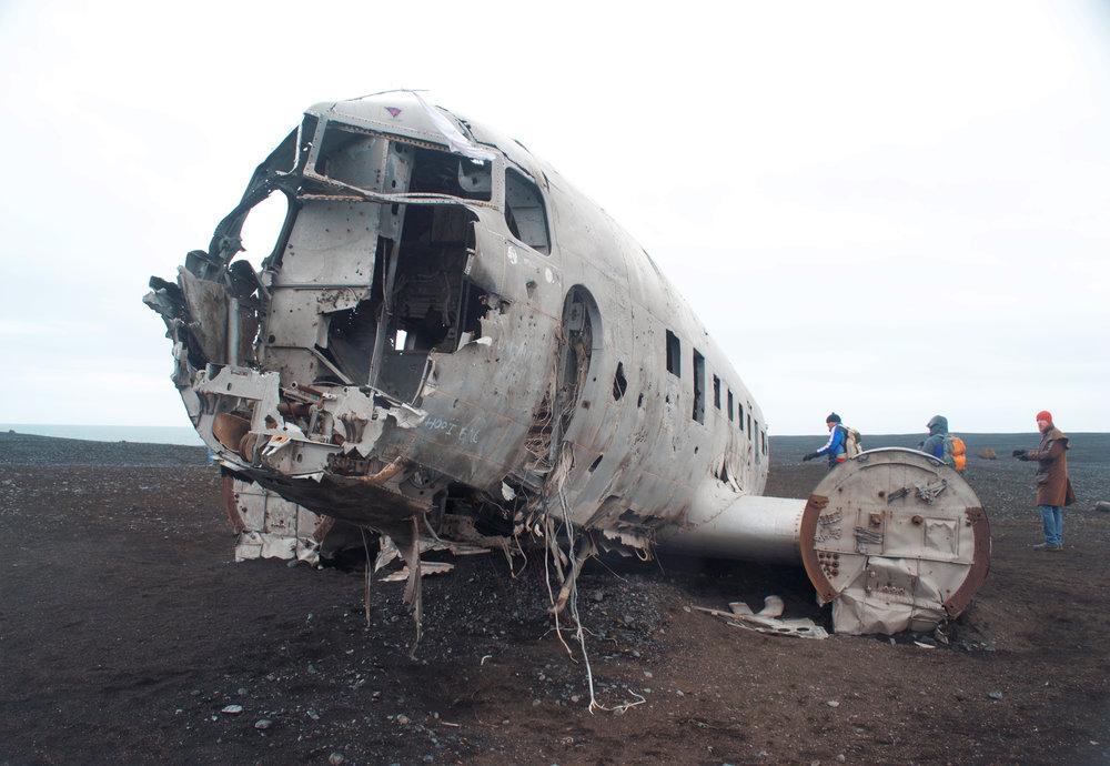 1973 plane wreckage, Iceland. Nikon D3100.