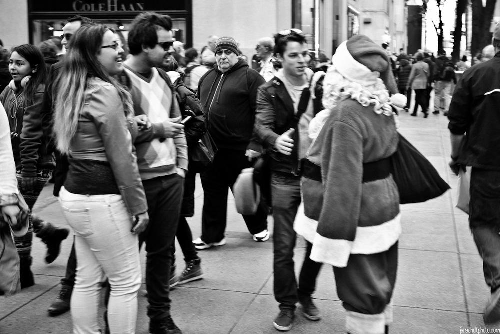 Sidewalk Saint Nicholas