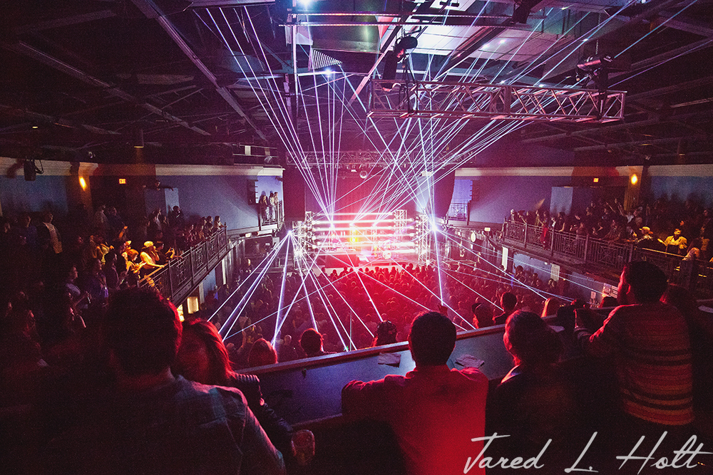 Funk, bass and lasers. Oh my!