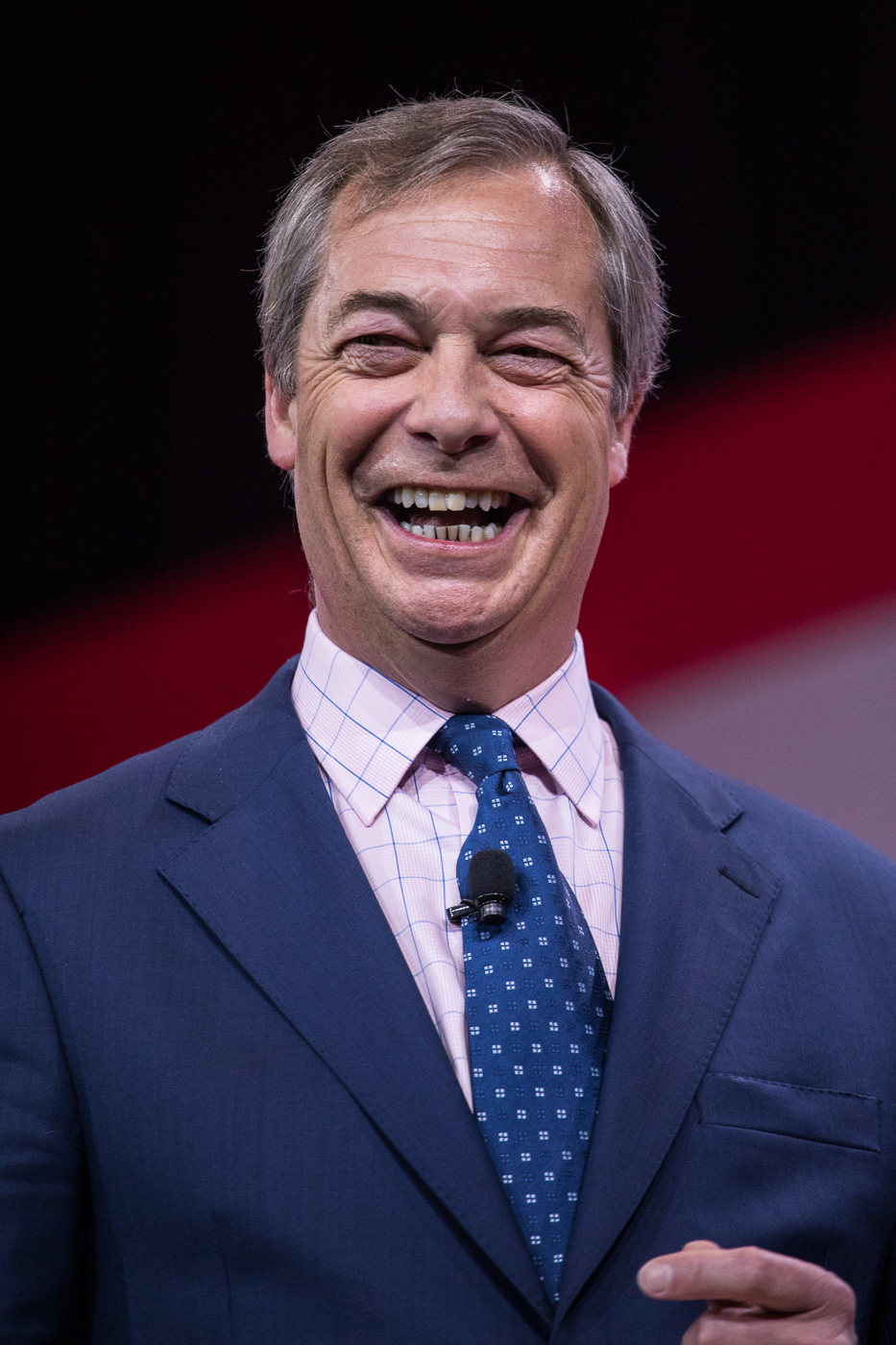 "Nigel ""Mr. Brexit"" Farage"
