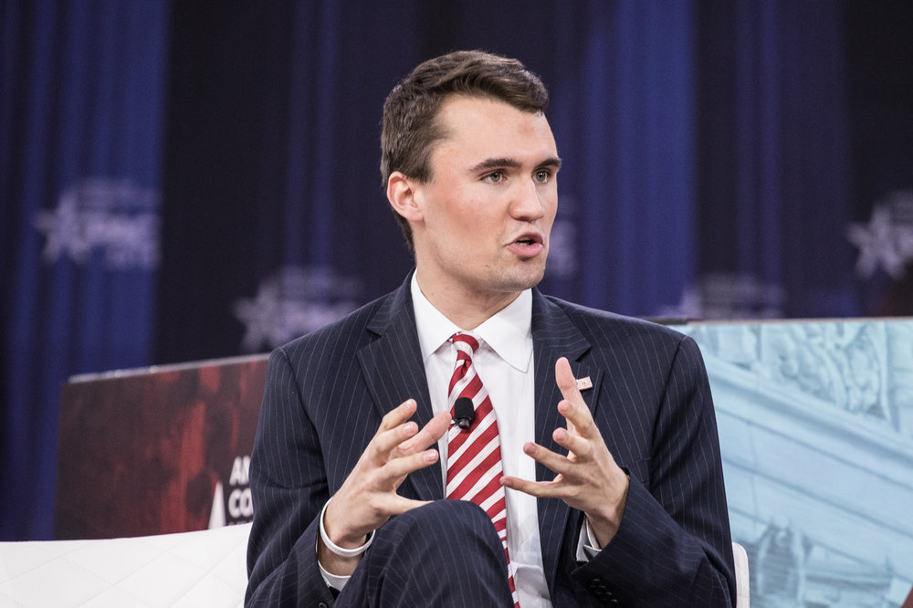 Turning Point USA president Charlie Kirk