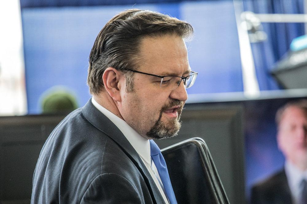 Former White House aide Sebastian Gorka