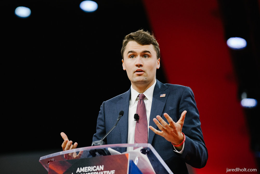 Charlie Kirk, President of Turning Point USA