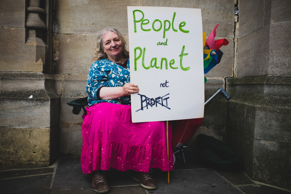 People and Planet not Profit
