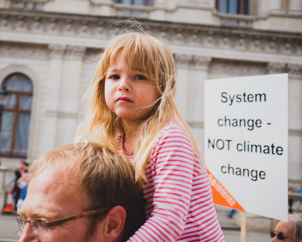 System change - NOT climate change