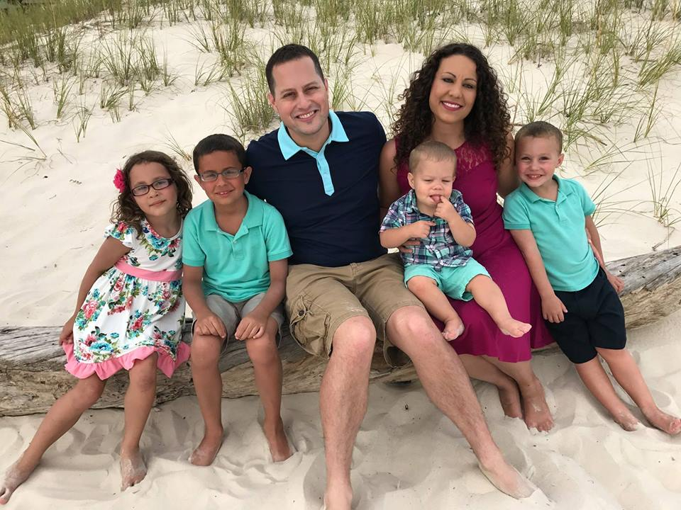 Associate Pastor Justin Wax and family