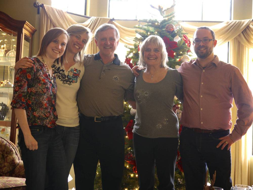 O'Neill Family on Christmas Day