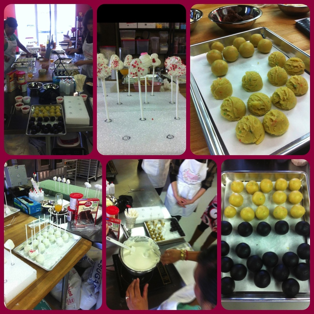 Cake Pop Making
