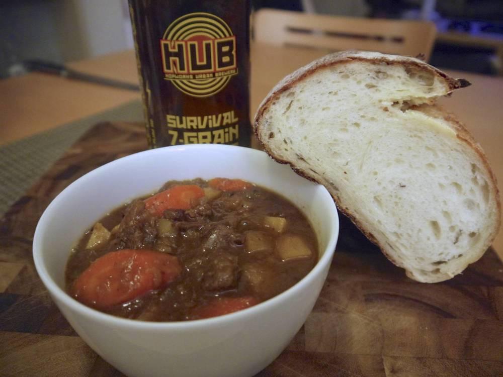 Stout Beef & Veggie Stew