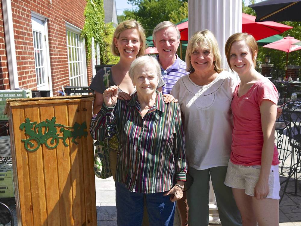 Grandma and Family at Hackney's for Lunch