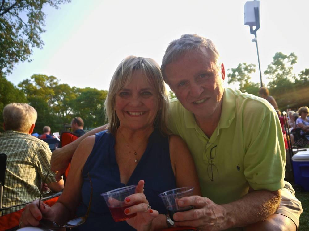 John & Jan at Ravinia