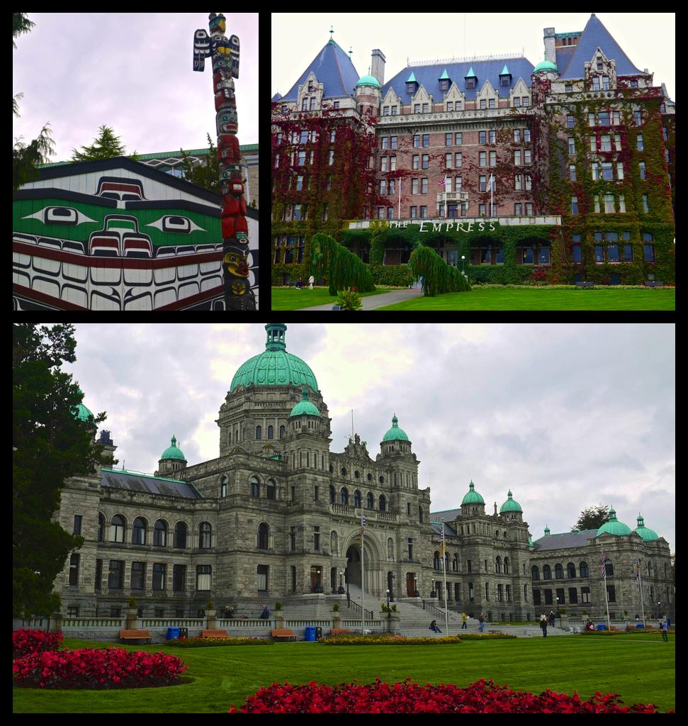 Thunderbird Park, The Empress, and Parliament