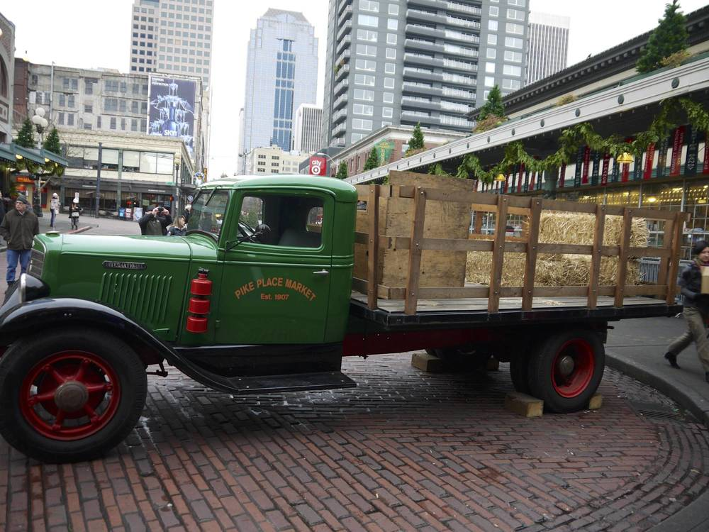 Pike Place Market Truck