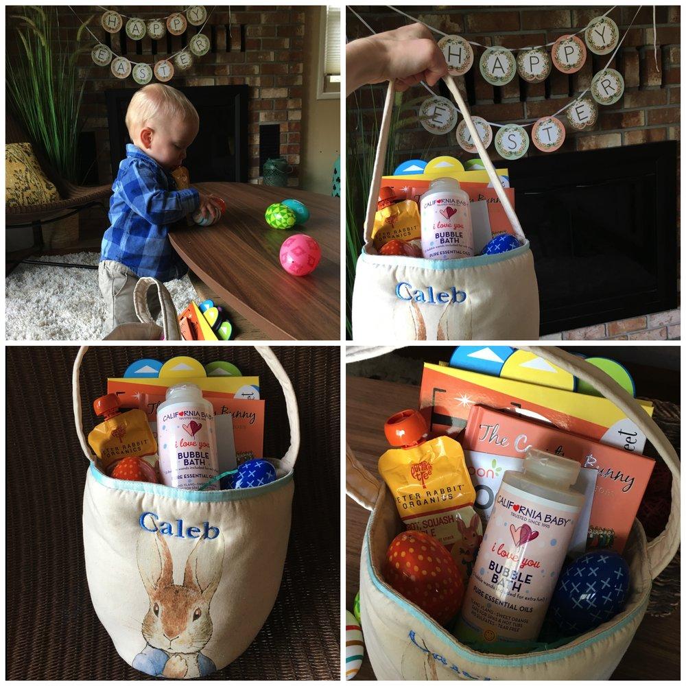 Easter Basket & Goodies