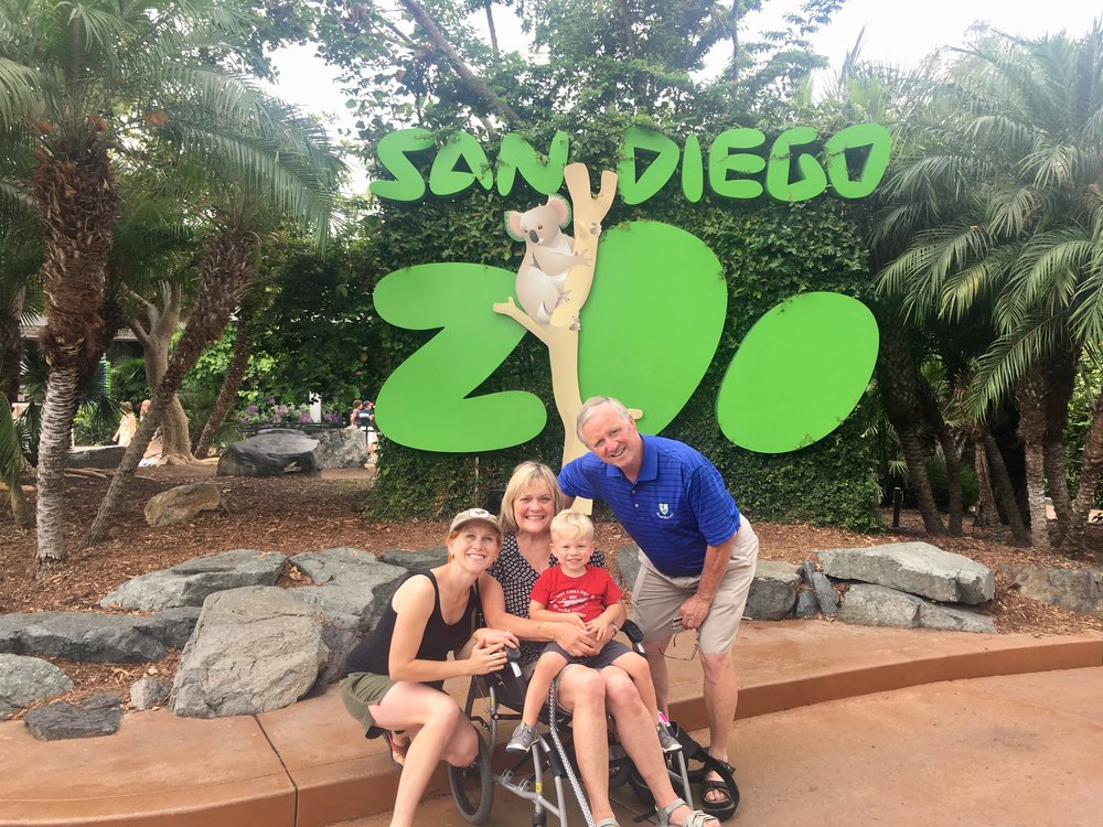 San Diego Zoo: Caleb's first visit