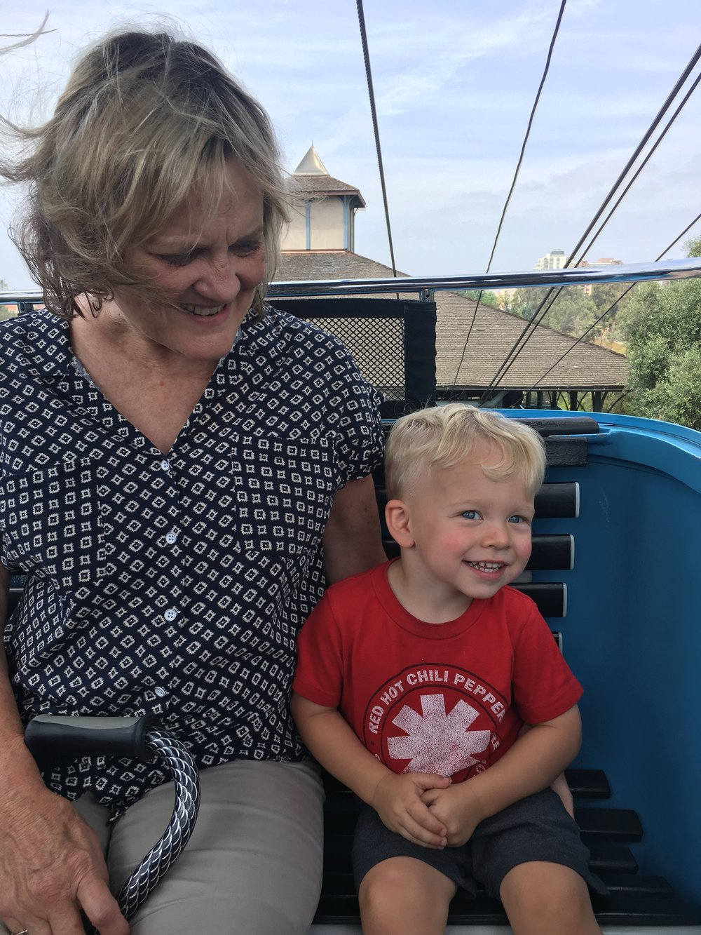San Diego Zoo: Best part for Caleb, the Air Tram