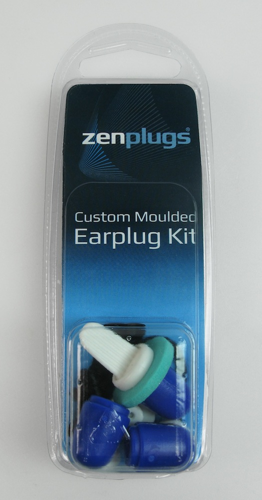 ZenPlugs Custom Fitted Molded Ear Plug Kit