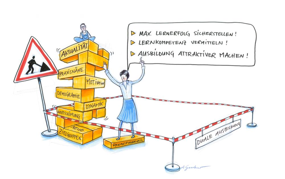 Eine zukunftsfähige duale Berufsausbildung benötigt wirkungsvollere Lernmodelle