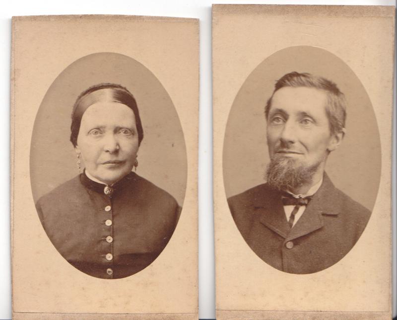 My great great grandparents. Elizabeth Freeman Jane and Joost van de Woestijne