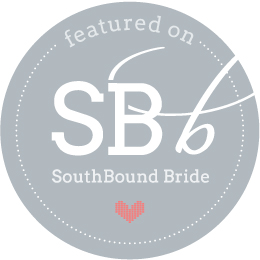 Featured on South bound bride!