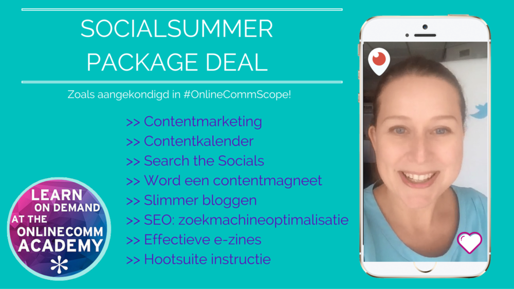 SocialSummer Package Deal