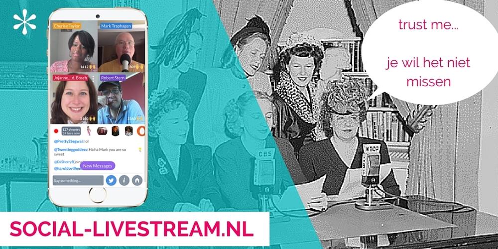 Social Livestream Met Jojanneke