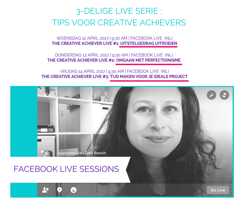 Live Serie The Creative Achiever