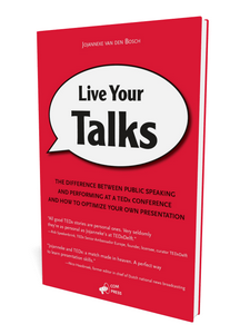 Live Your Talks on Amazon