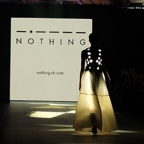 Fashion Show @ PLATFORM FASHION, Düsseldorf, LED ullimated dress by NOTHING