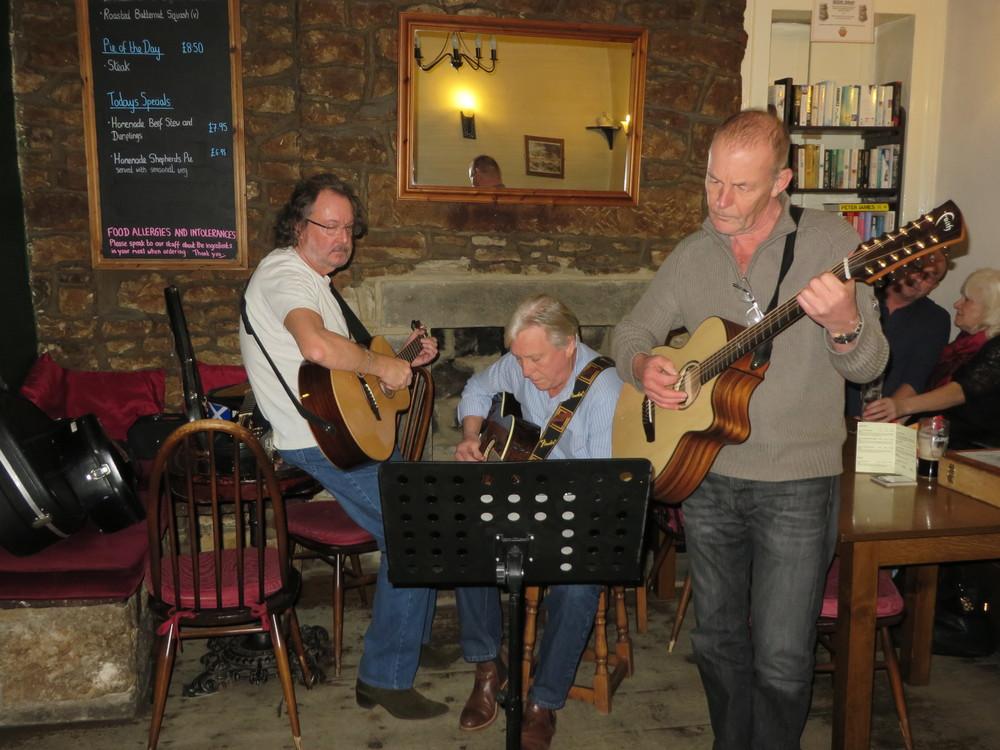 John, Kevin and John N