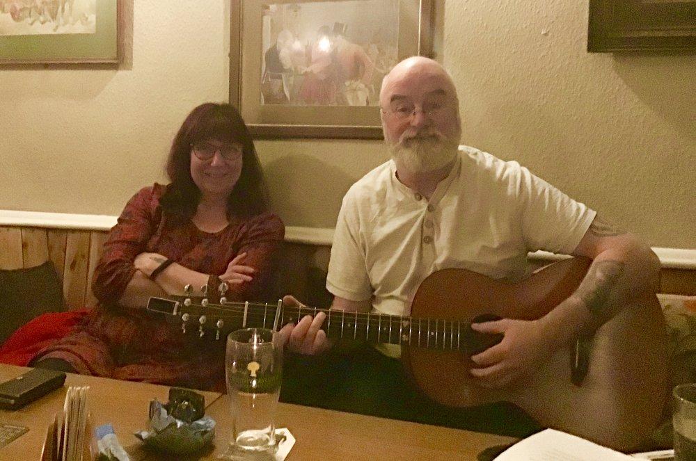 Kath and Brian
