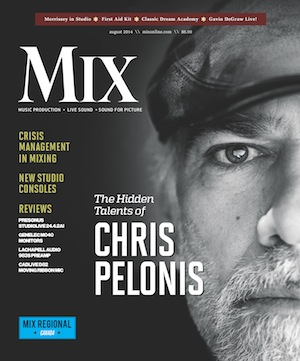 Click on Mix Magazine's front cover to go straight to the full interview.