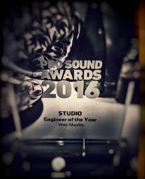 Audio Media Intl. on Wes's Pro Sound Award