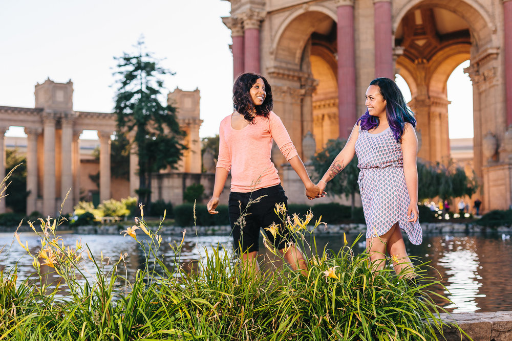 C & M | Palace of Fine Arts, San Francisco, CA