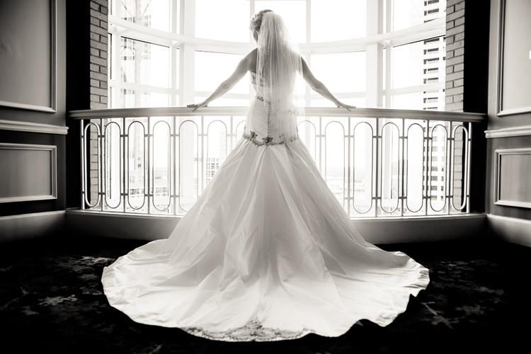 Bridal Session at The Georgian Terrace Hotel, Atlanta