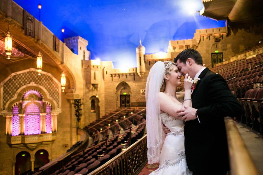 Georgia theater wedding