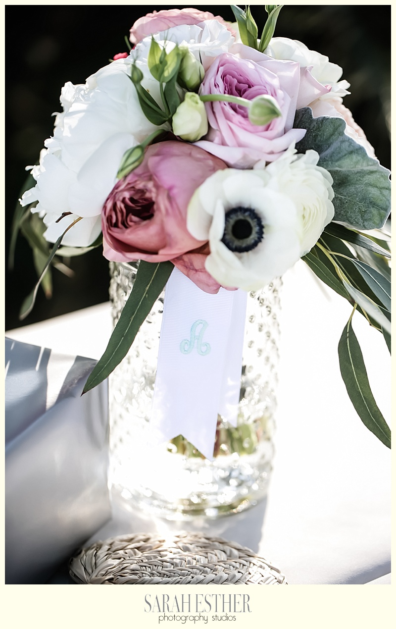 center piece wedding jeckyll island beach view wedding atlanta photographer sarah esther