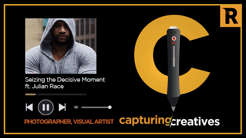 Julian Race interview on the Capturing Creatives podcast - We talk art, creativity, the journey, and overcoming the struggle on this podcast with Julian Race and Rahim Rasul for Capturing Creatives. Have a listen: