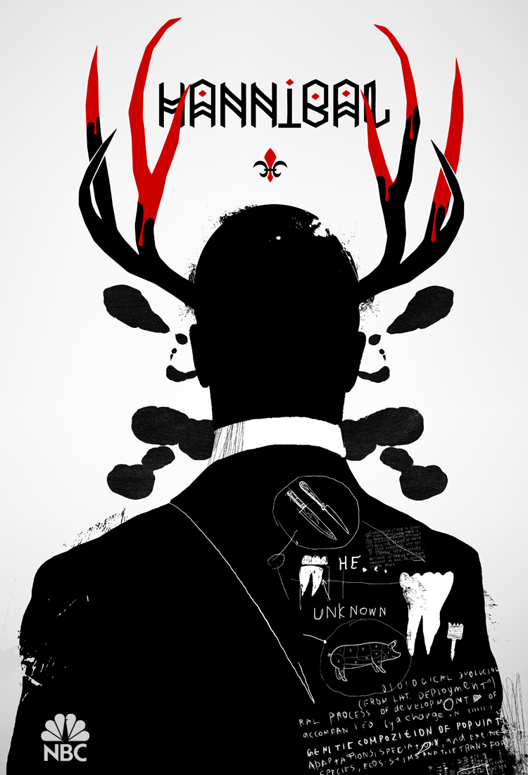 7 POSTERS IN DAYS CULT TV Hannibal