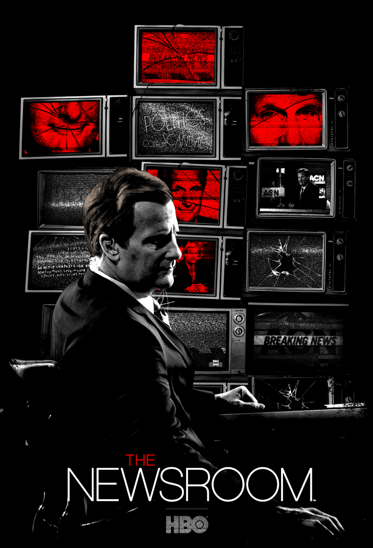 7 Posters/ 7 Days: The Newsroom