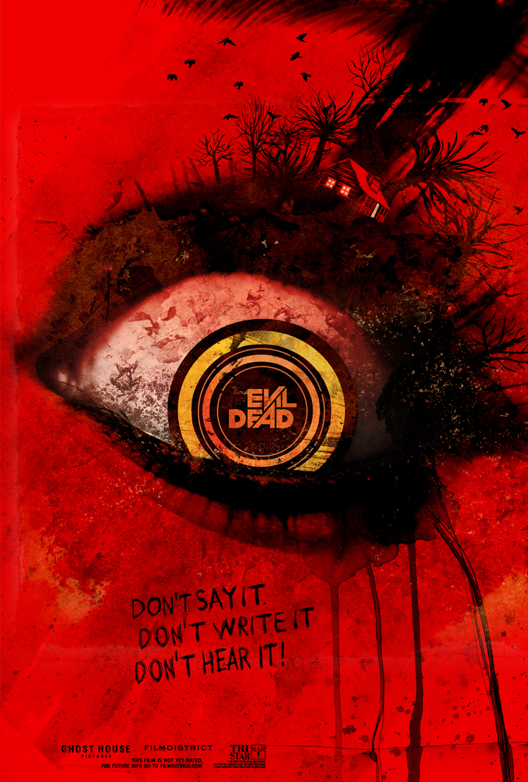 """Evil Dead (2013)"" One Sheet"