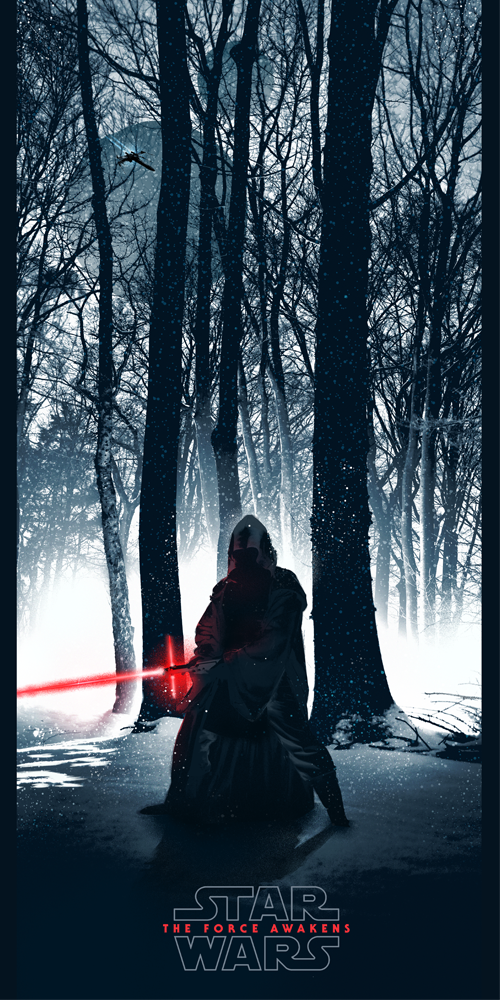 """Star Wars: The Force Awakens"" Poster"